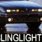 1992-1998 PONTIAC GRAND AM XENON FOG LAMPS DRIVING LIGHTS LAMP LIGHT KIT 1993 1994 1995 1996 1997