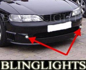 1995-2002 VAUXHALL VECTRA FOG LAMPS sport gsi b cd 1996 1997 1998 1999 2000 2001