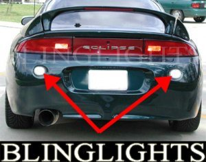 1995-1999 MITSUBISHI ECLIPSE REAR FOG LAMPS rs gs gs-t gsx 1996 1997 1998