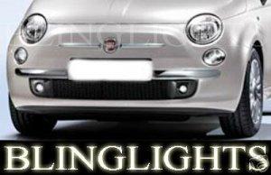 2007-2009 FIAT 500 XENON FOG LAMPS LED DRIVING LIGHTS LAMP LIGHT KIT 1.2 1.4 patrol 1.3 jtd 2008