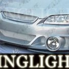 1998-2002 HONDA ACCORD VERSUS MOTORSPORT BODY KIT BUMPER FOG LAMPS DRIVING LIGHTS 1999 2000 2001