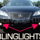 2007 2009 LEXUS ES350 FOG LAMPS LIGHTS ES 350 DRIVING 2008