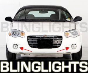 2004 2005 2006 CHRYSLER SEBRING CONVERTIBLE XENON FOG LIGHTS DRIVING LAMPS LIGHT LAMP KIT