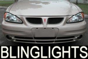 1999-2005 PONTIAC GRAND AM XENON FOG LIGHTS DRIVING LAMPS LAMP LIGHT KIT 2000 2001 2002 2003 2004