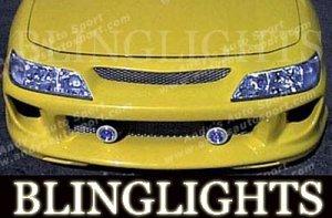 1994-2001 ACURA INTEGRA AAS BODY BUMPER FOG LIGHTS LAMPS KIT 1995 1996 1997 1998 1999 2000
