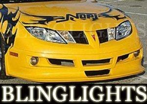 2003-2007 PONTIAC SUNFIRE RAZZI BODY KIT FOG LIGHTS LAMPS 2004 2005 2006