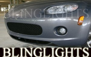 1999-2005 MAZDA MIATA MX-5 XENON FOG LIGHTS DRIVING LAMPS LIGHT LAMP KIT 2000 2001 2002 2003 2004