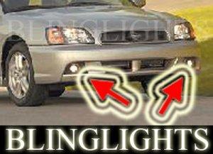 2003 SUBARU LEGACY WAGON XENON FOG LIGHTS DRIVING LAMPS LIGHT LAMP KIT