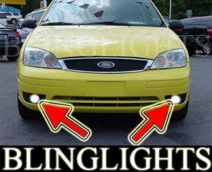 2005-2007 FORD FOCUS ZX3 SES XENON FOG LIGHTS DRIVING LAMPS LIGHT LAMP PAIR KIT 2006