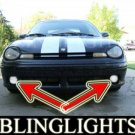 1997 1998 1999 DODGE NEON R/T XENON FOG LIGHTS driving lamps