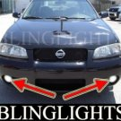 2002-2006 NISSAN SENTRA SE-R LED FOG LIGHTS lamps 2003 2004 2005 ser