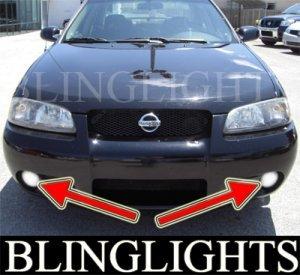 2002-2006 NISSAN SENTRA SE-R LED FOG LIGHTS lamps 2003 2004 2005 ser