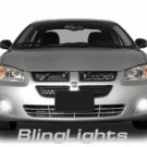 2002-2006 DODGE STRATUS SXT SEDAN XENON FOG LIGHTS DRIVING LAMPS LIGHT LAMP KIT 2003 2004 2005