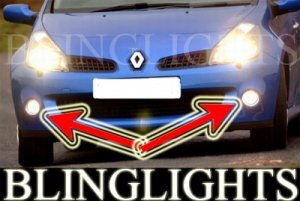 2006-2008 RENAULT CLIO III RS 197 FOG LIGHTS lamps 2007