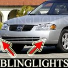 2003 2004 2005 NISSAN SENTRA XENON FOG LIGHTS DRIVING LAMPS LIGHT LAMP KIT 2.5LE 2.5S 2.5 LE S