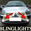 RENAULT CLIO II 1.2 8V FOG LIGHTS driving lamps grande