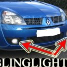 1999-2003 RENAULT CLIO II RS 172 XENON FOG LIGHTS DRIVING LAMPS 2000 2001 2002