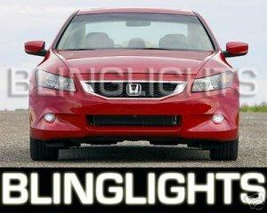 2008 2009 HONDA ACCORD COUPE SEDAN XENON FOG LIGHTS DRIVING LAMPS LIGHT LAMP KIT