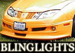 2003-2007 PONTIAC SUNFIRE EREBUNI BODY KIT FOG LIGHTS LAMPS 2004 2005 2006