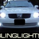 2002-2006 NISSAN SENTRA SE-R SPEC-V FOG LIGHTS DRIVING LAMPS LIGHT SER LAMP KIT 2003 2004 2005