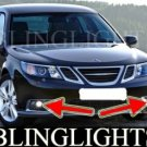 2008 2009 2010 SAAB 9-3 SPORT SEDAN XENON FOG LIGHTS LAMPS LIGHT LAMP KIT touring comfort xwd aero
