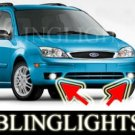 2005 2006 2007 FORD FOCUS ZXW XENON FOG LIGHTS PAIR DRIVING LAMPS LAMP LIGHT KIT s se ses wagon