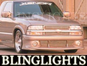 1998-2007 GMC SONOMA XENON BODY KIT FOG LIGHTS LAMPS 1999 2000 2001 2002 2003 2004 2005 2006