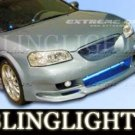 2000 2001 2002 2003 NISSAN MAXIMA EXTREME DIMENSIONS BODY KIT FOG LIGHTS LAMPS LIGHT LAMP KIT