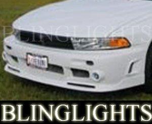 1999-2003 MITSUBISHI GALANT EREBUNI BODY FOG LIGHTS DRIVING LAMPS LIGHT LAMP KIT 2000 2001 2002