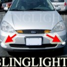 2002 2003 2004 FORD FOCUS SVT 3 DOOR HATCHBACK XENON FOG LIGHTS BUMPER DRIVING LAMPS LIGHT LAMP KIT