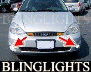 2002 2003 2004 FORD FOCUS SVT 3 DOOR HATCHBACK XENON FOG LIGHTS BUMPER DRIVING LAMPS LIGHT LAMP KIT
