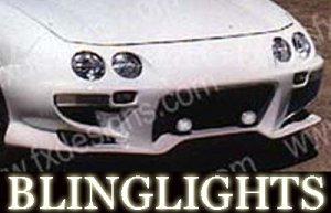 1994-2001 ACURA INTEGRA FX DESIGNS BODY BUMPER FOG LIGHTS LAMPS KIT 1995 1996 1997 1998 1999 2000