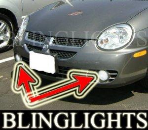 2002-2005 DODGE NEON SXT FOG LIGHTS driving lamps 2003 2004