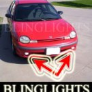 1995-1999 DODGE NEON SPORT FOG LIGHTS driving lamp 1996 1997 1998