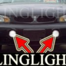 1996-1999 PONTIAC BONNEVILLE SSEI FOG LIGHTS driving lamps 1997 1998