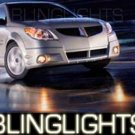 2003 2004 PONTIAC VIBE GT HALO FOG LIGHTS ANGEL EYE DRIVING LAMPS LIGHT LAMP KIT