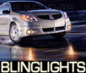 2003 2004 PONTIAC VIBE GT HALO FOG LIGHTS ANGEL EYE DRIVING LAMPS LIGHT LAMP KIT