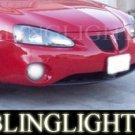 2004-2008 PONTIAC GRAND PRIX XENON BUMPER FOG DRIVING LIGHTS LAMPS LIGHT LAMP KIT 2005 2006 2007