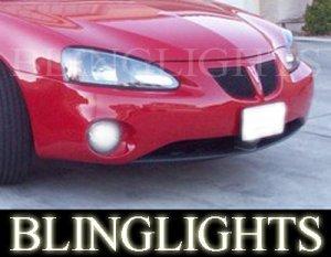 2004-2008 PONTIAC GRAND PRIX XENON BUMPER FOG DRIVING LIGHTS LAMPS LIGHT LAMP KIT 2005 2006 2007