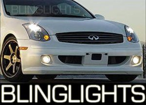 2003-2007 Infiniti Pulse One Kenstyle Body Kit Fog Lights Driving Lamps 2004 2005 2006