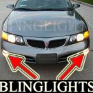 1992-1999 PONTIAC BONNEVILLE FOG LIGHTS driving lamp se sse 1993 1994 1995 1996 1997 1998