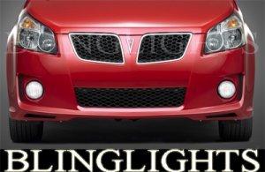 2009 2010 PONTIAC VIBE GT XENON FOG LIGHTS DRIVING LAMPS LIGHT LAMP KIT 09 10