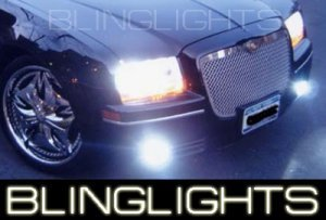 2004-2009 CHRYSLER 300 XENON FOG LIGHT driving lamps 2005 2006 2007 2008