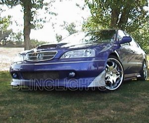 1999 2000 2001 ACURA TL 3.2 XENON BUMPER FOG DRIVING LIGHTS LAMPS LIGHT LAMP KIT