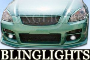 2002 2003 2004 2005 2006 NISSAN ALTIMA EXTREME DIMENSIONS BODY KIT FOG LIGHTS LAMPS LIGHT LAMP