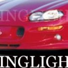 1998-2002 CHEVROLET CAMARO WINGS WEST BODY KIT FOG LIGHTS DRIVING LAMPS 1999 2000 2001