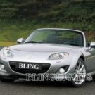 2009 MAZDA MIATA MX-5 XENON FOG LIGHTS DRIVING LAMPS LIGHT LAMP KIT 09 SV SPORT GRAND TOURING MX5