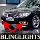 2008 SAAB 9-3 TURBO X FOG LIGHTS DRIVING LAMPS LIGHT LAMP KIT SPORT SEDAN WAGON SPORTCOMBI