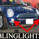 2001-2006 MINI COOPER R50 UPPER XENON FOG LIGHTS DRIVING LAMPS KIT 2002 2003 2004 2005
