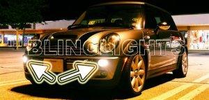 2005-2008 MINI COOPER CONVERIBLE R52 UPPER XENON FOG LIGHTS DRIVING LAMPS KIT 2006 2007